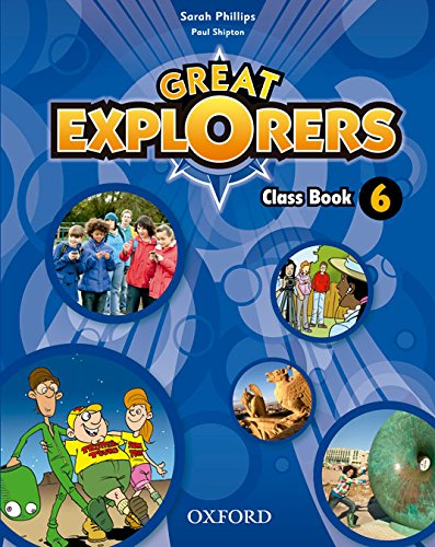 Pack Great Explorers 6. Class Book - Revised Edition - 9780194820509