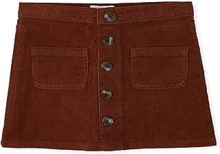 The Children's Place Girls Button Corduroy Skirt