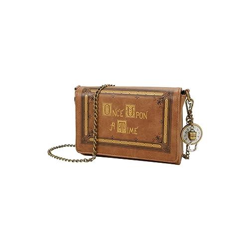 f2537cdda0fa Once Upon A Time Book Cover Crossbody Handbag