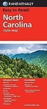 Easy To Read: North Carolina (Rand McNally State Maps)