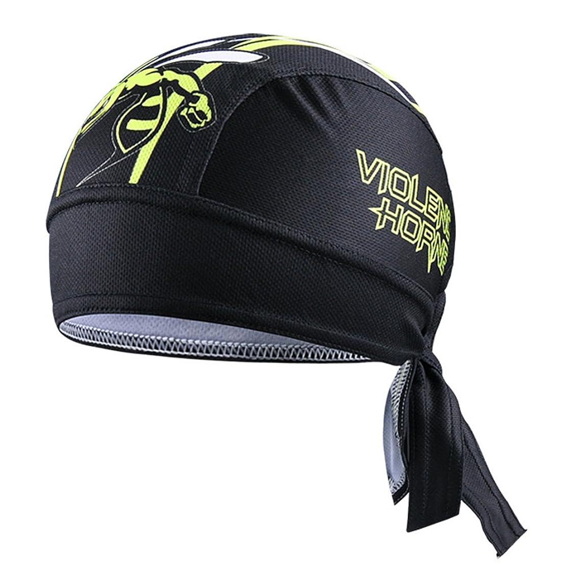 悪因子急襲ポルノLiebeye サイクリングスカーフ 乗馬 通気性 速乾性 キャップ 帽子 バイク海賊スカーフ ユニセック