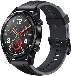 Huawei Watch GT Sport - Reloj (TruSleep, GPS, monitoreo del ritmo cardiaco), Negro