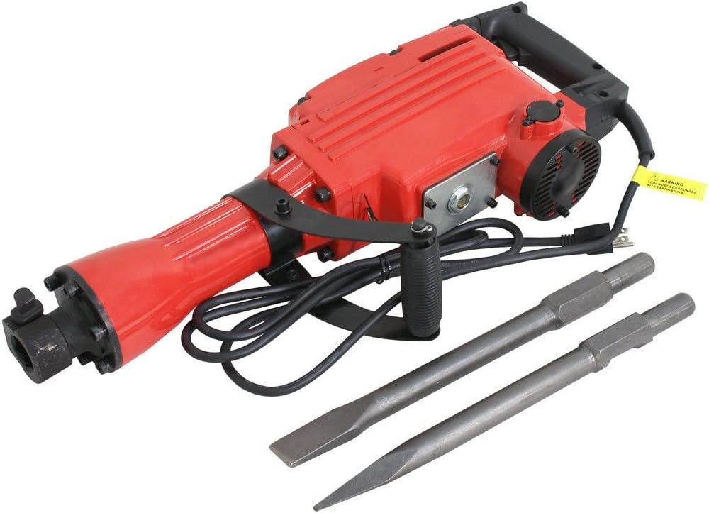 Red 2200W Year-end annual account wholesale Electric Demolition Hammer Concrete Construction Jack