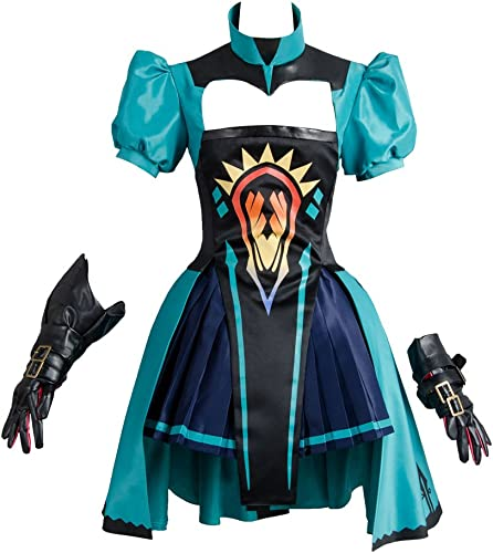 Fate Apocrypha Archer of rot Atalanta Suit Outfit Gown Kleid Cosplay Kostüm Damen M