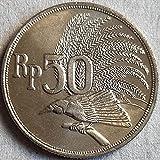 SHFGHJNM Colección de Monedas Indonesia 1971 Moneda Conmemorativa 1721