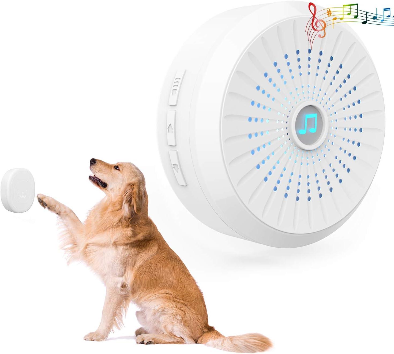 IP55 Waterproof Dog Training Door Bells Included Receiver and Transmitter Dog Door Bell with Wireless Touch Dog Bells for Potty Training CATOOP Wireless Dog Doorbell