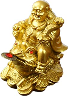 Best laughing buddha on money frog three legged toad Reviews