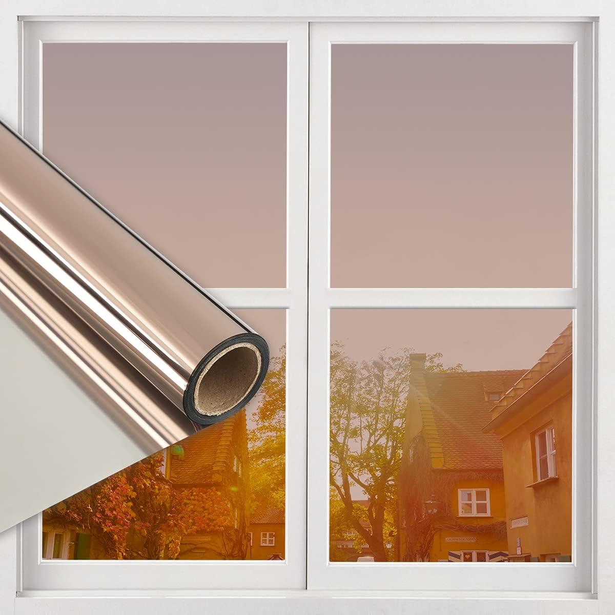 Window Privacy Film One Way Mirror Bloc Daytime Free Shipping New Sun Ranking TOP10 Anti UV