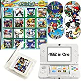 482 in 1 Games for DS, Game Card Super Combo for DS 3DS NDS NDSL NDSi XL New