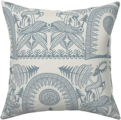 Pillow Perfect Embroidered Sanibel Shells Corded Throw Pillow 18-Inch