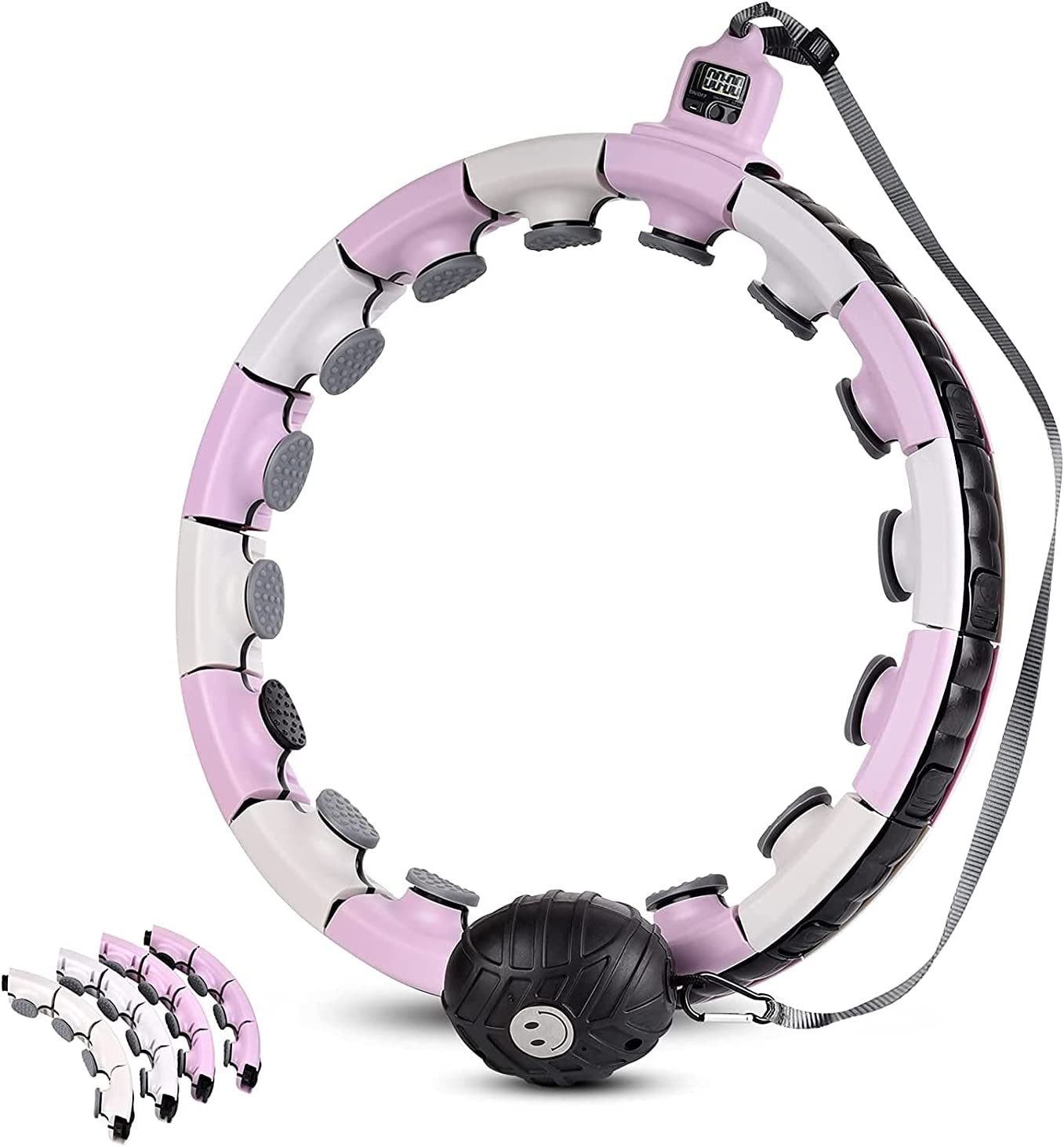 Janusoma High quality Weighted Hoola Hoops with Smart Hoop Baltimore Mall Adjustable
