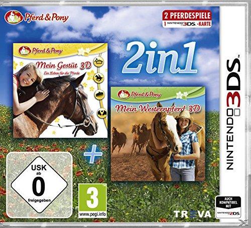 2 in 1 - Mein Gestüt 3D + Mein Westernpferd 3D (Pferd & Pony)