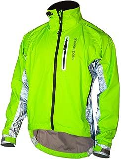 Showers Pass Men's 3M Scotchlite Hi-Vis Elite Waterproof Cycling Jacket