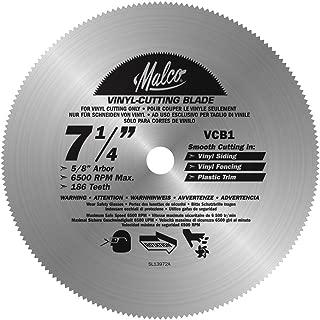 Malco VCB1 7-1/4-Inch Vinyl Siding and Fencing Cutting Circular Saw Blade