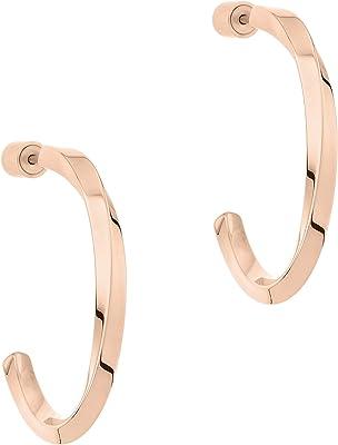 Liebeskind Berlin Women's Creole Earrings Stainless Steel