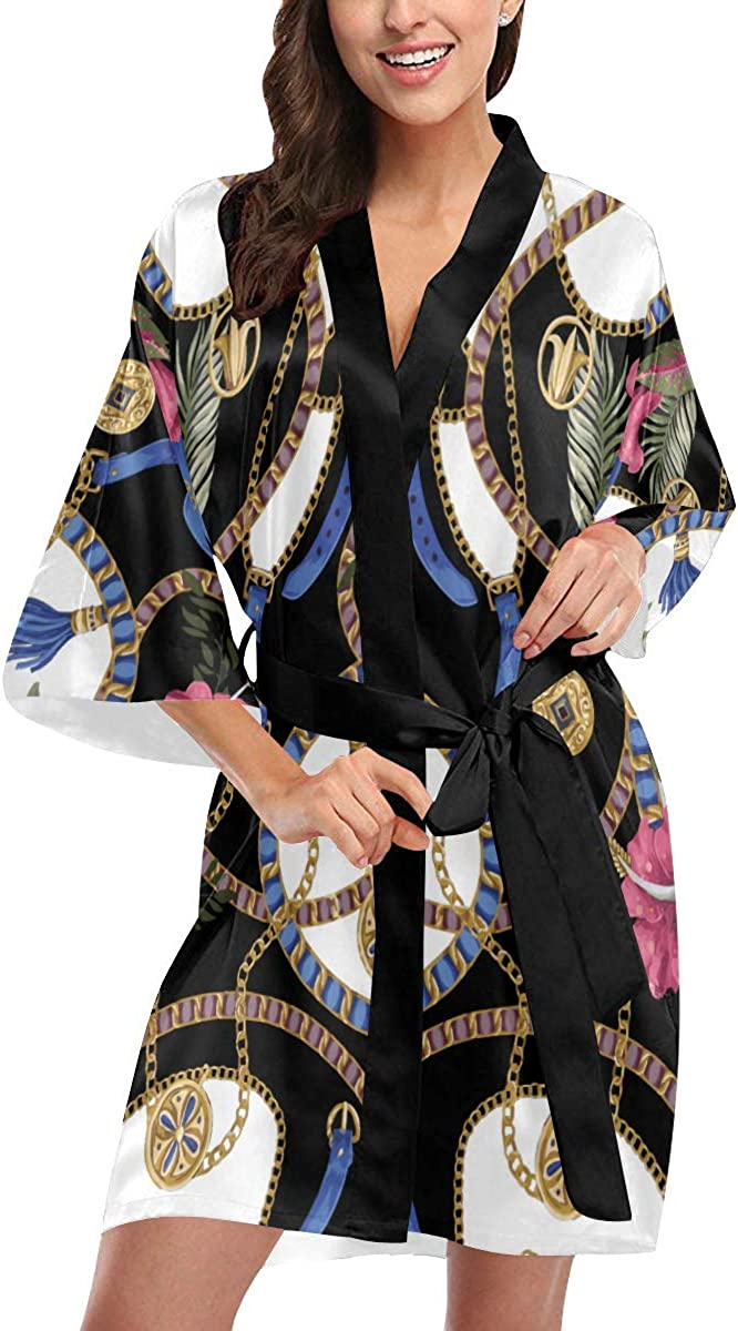 Japanese specialty shop Kimono Robes For Women Men Floral Arched White Ja Max 45% OFF Dress