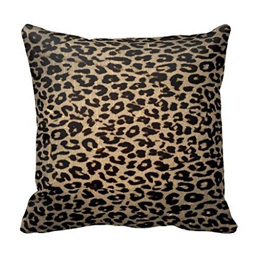 forcoolstore Vintage leopardo colorido manta funda de almohada Funda de cojín
