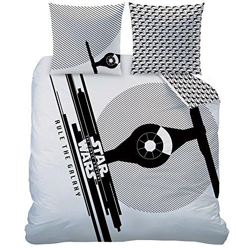Star Wars, set copripiumino, bianco, 240 x 220 cm