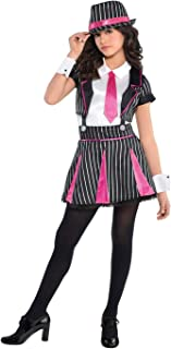 Girls Mob Doll Gangster Costume - Large (12-14)