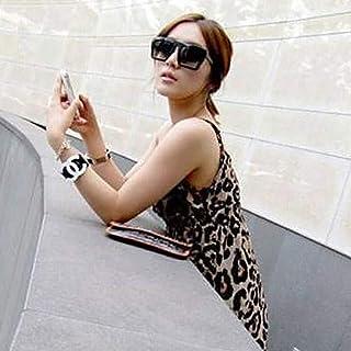 オシャレユニセックス スクエアレンズ ファッションサングラス デザイナースタイルシェードゴーグル ブラック