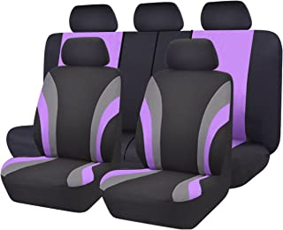 Best purple and black car seat covers Reviews