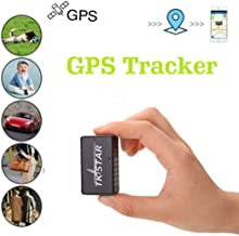 Mini GPS Tracker, Multi-Purpose Magnetic GPS Tracker for Vehicles Hidden Portable Real Time GPS Tracker for Kids Elderly M... photo