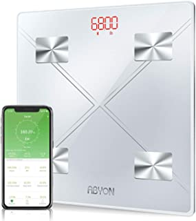 Upgraded 2019 - Bluetooth Smart Scales Digital Weight and Body Fat Bathroom Scale, Auto Monitor 13 Body Composition Analyzer with Smartphone APP - Perfect for Weight Lose Tracking or Health Management