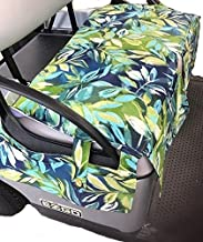 Golf Cart Covers Plus All Weather Golf Cart Seat Cover fits All EZGO Freedom TXT Golf Cart Seats Made in USA Seabreeze