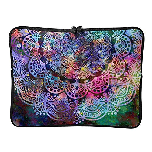 Standard Magical Hotpink Laptop Bags Personalized Scratch-Resistant - Bohemian Tablet Bag Suitable for Commuter White 17inch