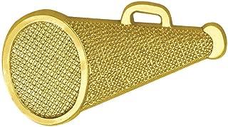 Simba Cal Gold Cheerleading Megaphone Chenille Lapel Pin