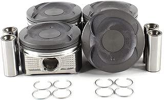 DNJ P932H Piston Set for 2007-2012 / Lexus, Toyota/Camry, HS250h / 2.4L / DOHC / L4 / 16V / 2362cc / 2AZFXE