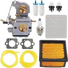 Trustsheer 578 24 34-01 C3-EL53 Carburetor Carb Kit for Husqvarna Partner K750 K760 510 Concrete Cut Off Saw Parts ZAMA C3-EL43C + Air Filter Fuel Primer Bulb Spark Plug
