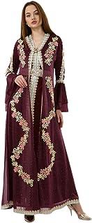 Mujezat Al-Shifa Marwa Fashion Moroccan Kaftan/Dress for Women/Embroidery Model-118