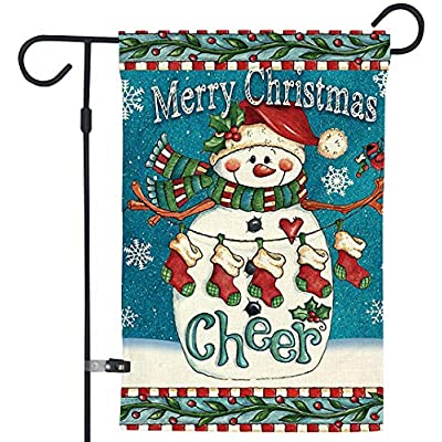 Garden Flags, Christmas Outdoor Decorations, Do...