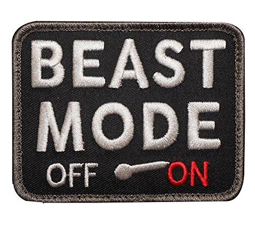 Kaben Beast Mode on Military Tactical Combat Badge Swat Patch ,1 PCS
