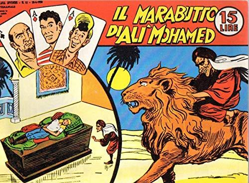 Collana Gim Toro serie bianca 45 del 9-1977 Il marabutto di Alì Mohamed