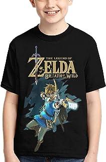 guoweiweiB Camisetas de Manga Corta para niño, The Legend of Zelda Boys Girls 3D Print Crew tee Youth Short Sleeve T-Shirt...