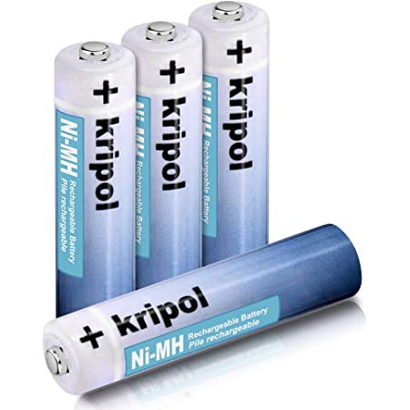 Amazon Com 4 Pack Aaa Nimh Rechargeable Batteries Kripol 1000mah 1 2v Replacement Battery For Panasonic Cordless Phone 1500 Cycle Charge Replacement Battery Home Audio Theater