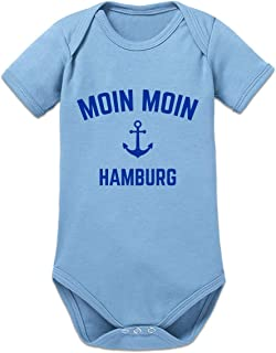 Shirtcity Moin Moin Hamburg Baby Strampler by