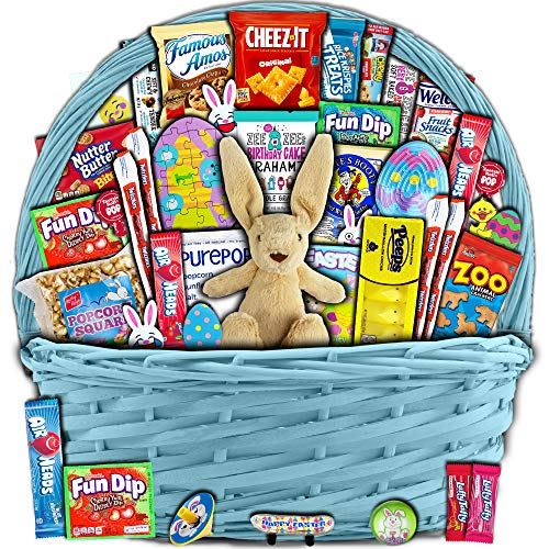 Yellow Easter Basket for Kids and Adults...