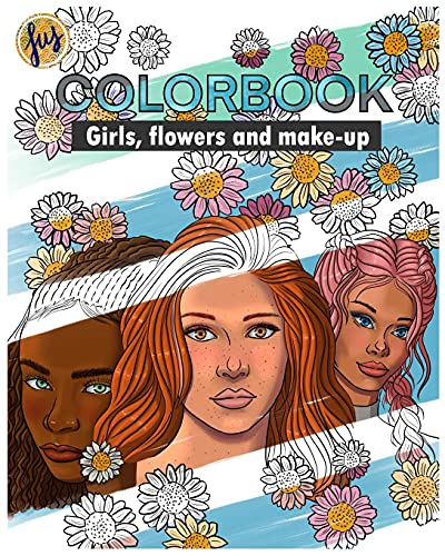 Colorbook: Girls, flowers and make-up