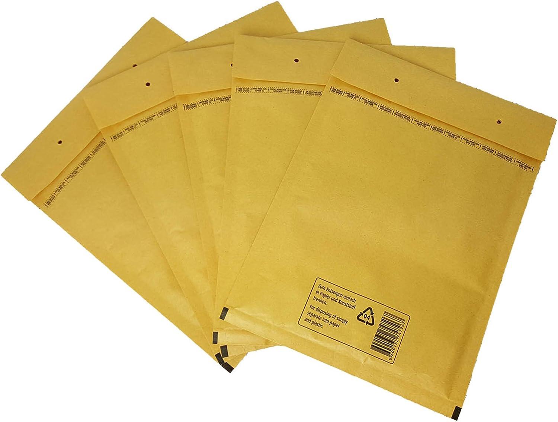 800 Luftpolstertaschen Versandtaschen Luftpolsterumschläge Luftpolsterumschläge Luftpolsterumschläge G7 (250 x 350mm) Braun B071S395VN | Zarte  5322d4