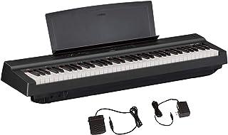 Yamaha P121 73-Key Weighted Action Compact Digital Piano, Bl