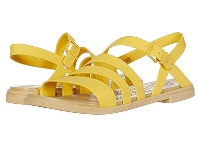 Crocs Tulum Sandal (Canary/Tan) Women