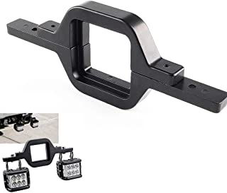 SKUNTUGUANG 3 inch Towing Hitch Mount Bracket for Truck Trailer RV SUV Pick Up fit Dual LED Work Light Reverse Rear Back Up Off Road Lights(Towing Hitch Mount Bracket)