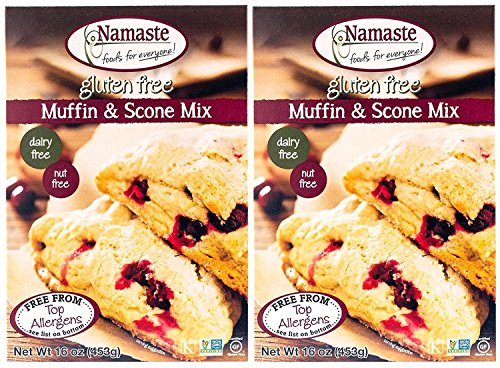 Namaste Foods Muffin Mix - Muffin & Scone - 16 oz - 2 pk