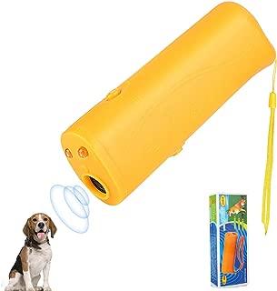 LanBaiLan Anti Barking Stop Bark Handheld 3 in 1 Pet LED Ultrasonic Dog Repeller and Trainer Device - Training Tool/Stop Barking