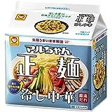東洋水産 マルちゃん正麺 冷し中華 5食パック 2個