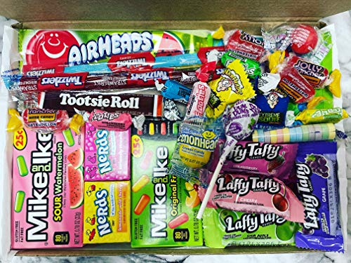 30 American Sweets Medium Box Candy Gift USA Candies Pic N Mix