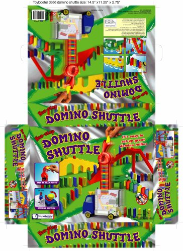 Toy Lobster Domino Shuttle